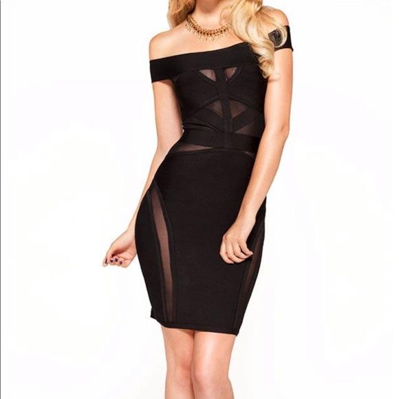 0a6c8c47dfc041 House of CB Dresses   Skirts - Celeb boutique (House of CB) black bandage